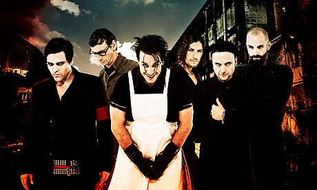 Berlin's Rammstein - one of the genre's best loved live acts.