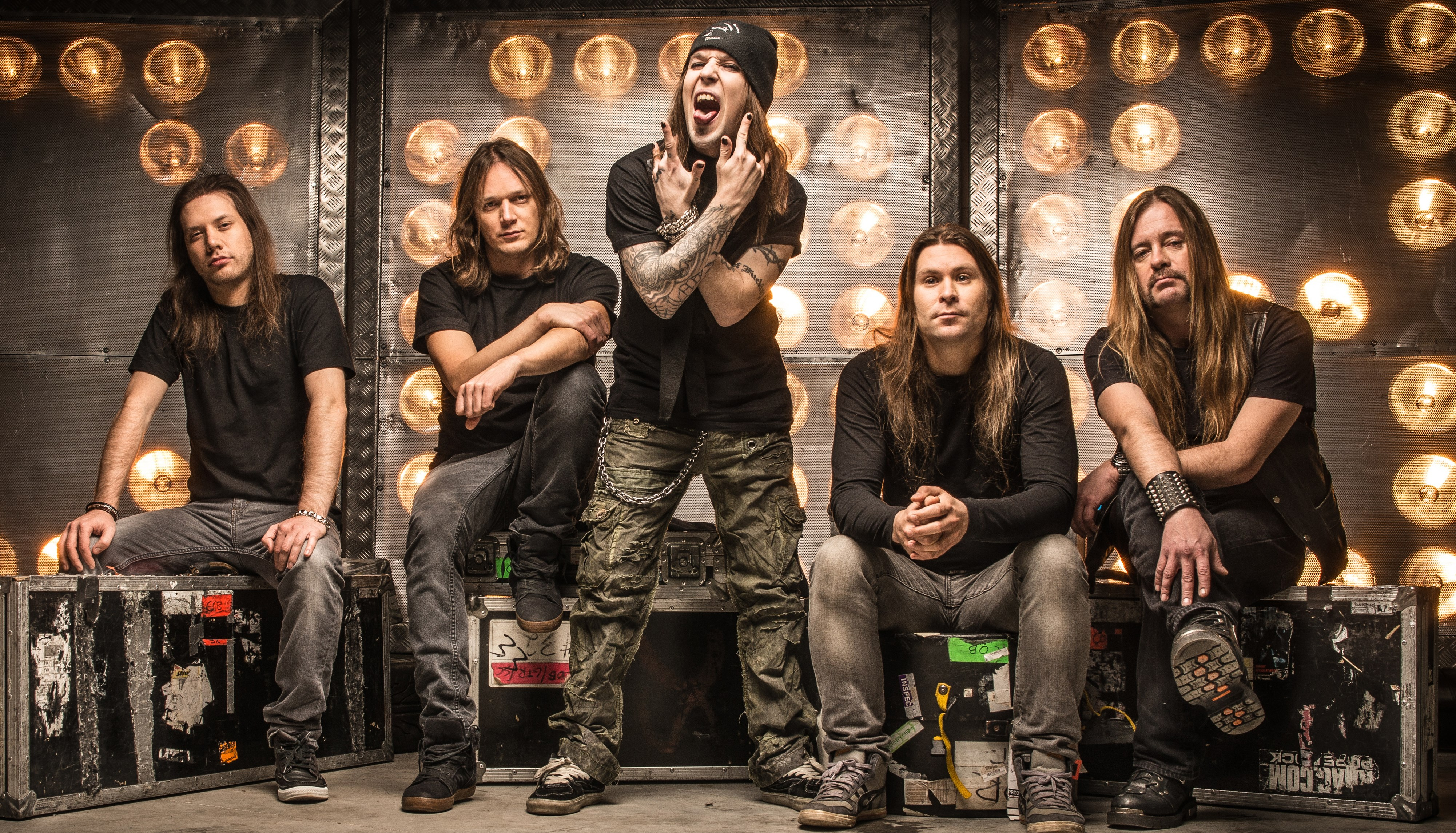 The Horns Up Top 10 Children Of Bodom Nine Circles