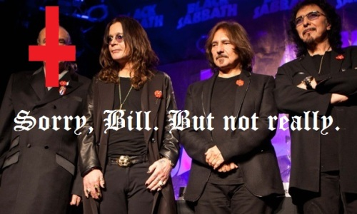 black sabbath without bill ward
