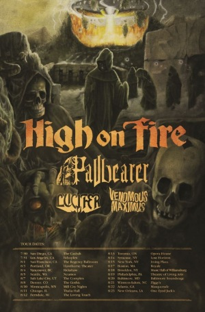 High On Fire Tour Bill