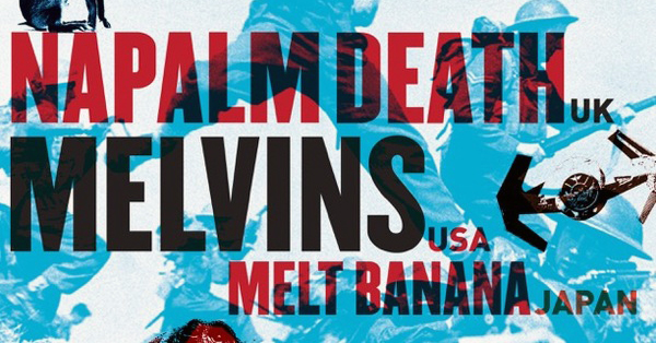 Napalm_Death_Melvins_Melt_Banana_tour