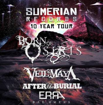Sumerian-records-10-year-tour
