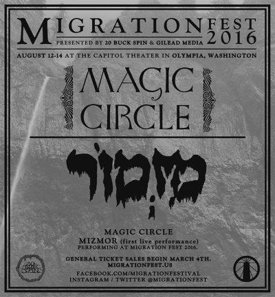 migration festival poster