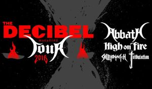Decibel Magazine Tour 2016