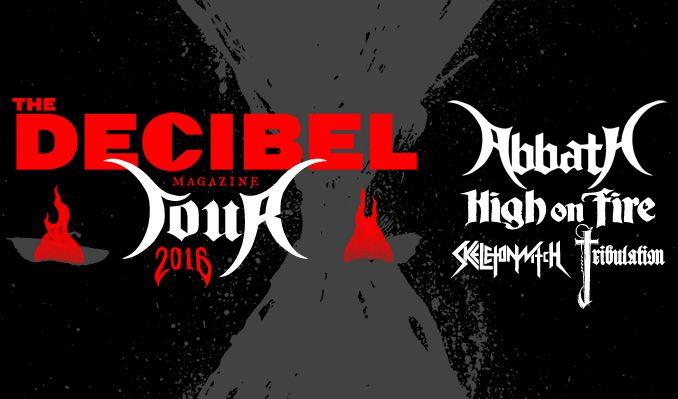 Decibel Magazine Tour 2016