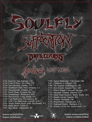 Soulfly-Tour