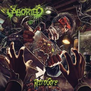 aborted retrogore album cover