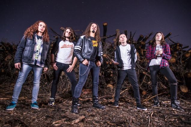 crisix promo band photo