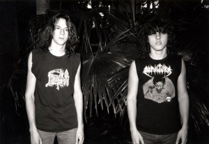 Death - Chuck and Chris circa 1986