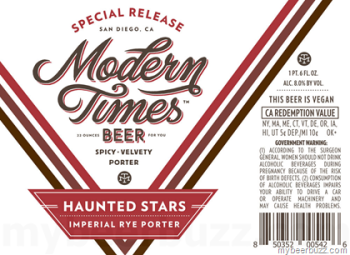 Modern Times Haunted Stars