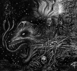 Grafvitnir - Obeisance to a Witch Moon