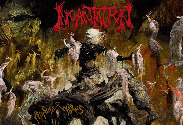 incantation profane nexus album cover