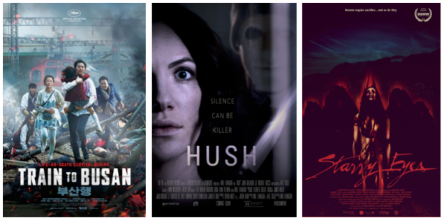 Blood Red - Train to Busan, Hush, Starry Eyes
