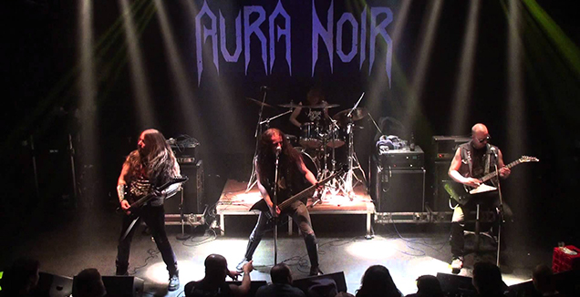 aura noir live performance
