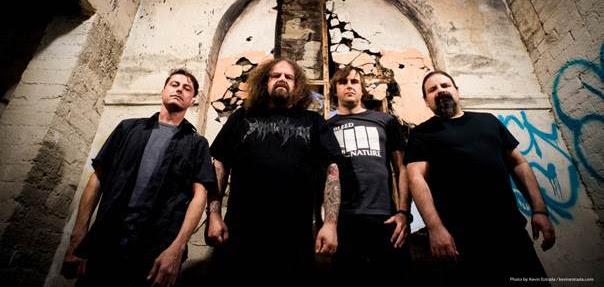Napalm Death band 2017