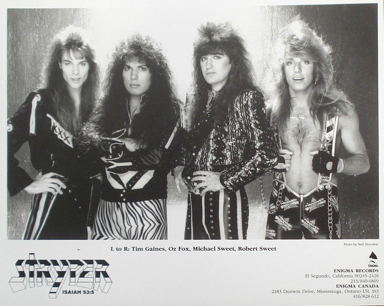 Stryper Press Kit - How Not To Do It