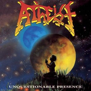 atheist unquestionable presence album cover