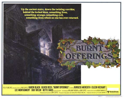 burnt offerings lobby card