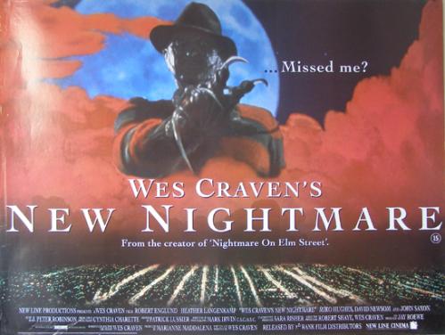 wes craven new nightmare poster