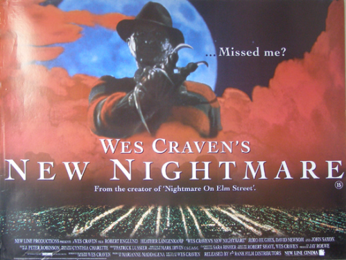 wes craven new nightmare poster