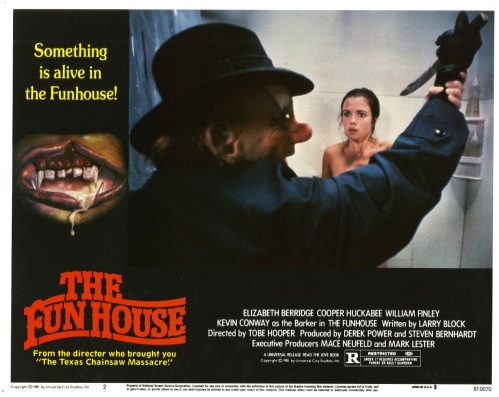 THE FUNHOUSE - American Lobby Card 2