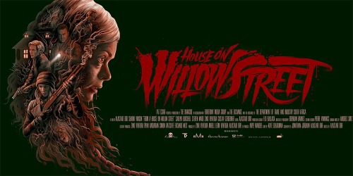 house on willow street poster