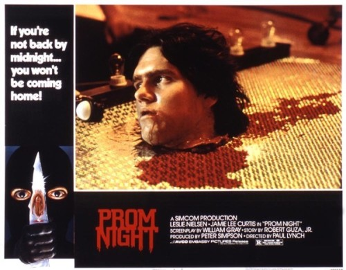 prom night lobby card
