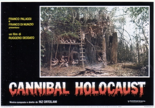 cannibal holocaust lobby card