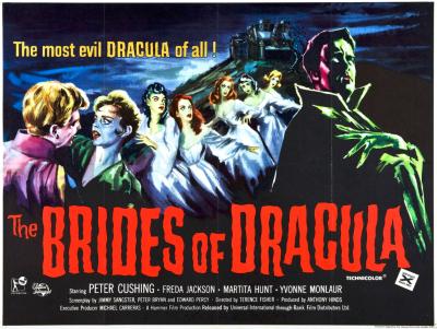 brides of dracula poster