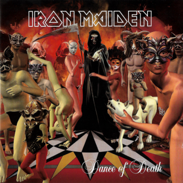 iron maiden - dance of death album cover