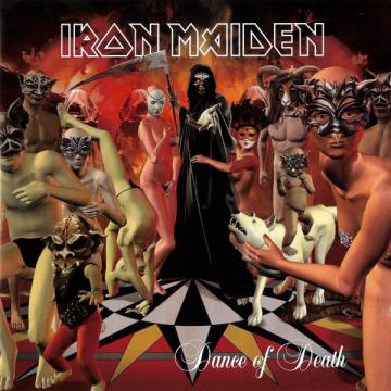 iron maiden - dance of death album cover