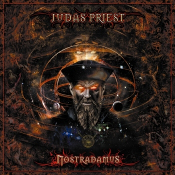 judas priest - nostradamus album cover