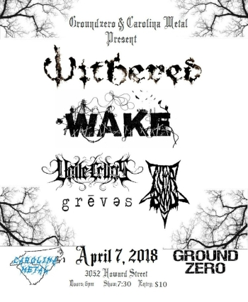 Withered Wake Valle Crucis Altar Blood Greves 4.7.2018