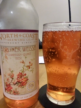 north coast cranberry quince weisse