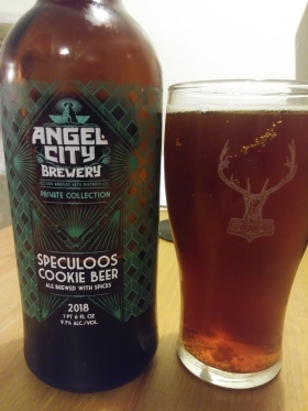 angel city speculoos cookie beer