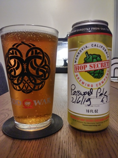 hop secret password pale