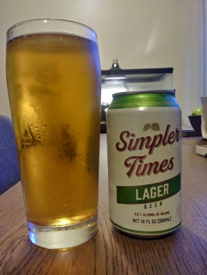 simpler times lager