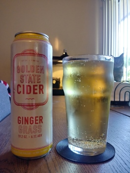 golden state cider company gingergrass