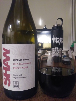 charles shaw pinot noir