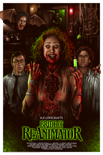 bride of reanimated poster
