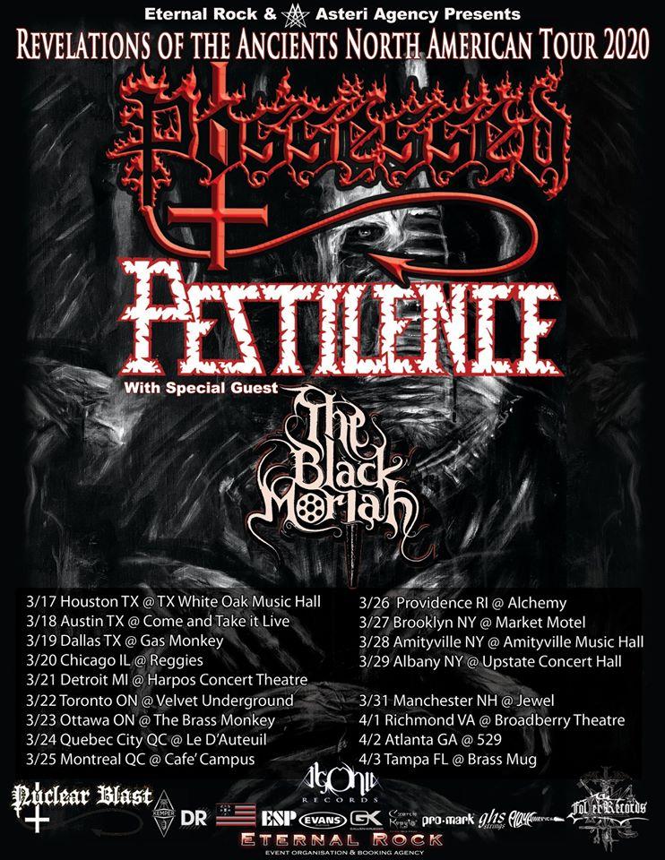 possessed tour 2020