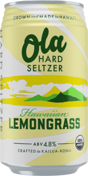 ola Lemongrass seltzer
