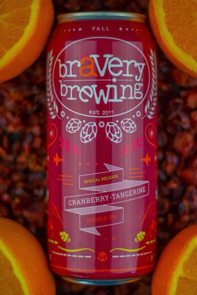 bravery brewing cranberry tangerine dipa
